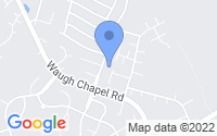 Map of Odenton MD