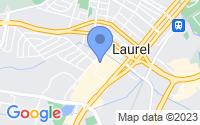 Map of Laurel MD