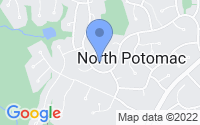 Map of North Potomac MD