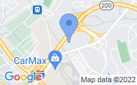 Map of Derwood MD