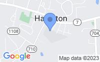 Map of Hamilton VA