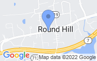 Map of Round Hill VA