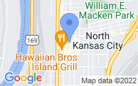 Map of North Kansas City MO