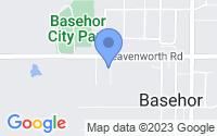 Map of Basehor KS