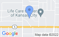 Map of Kansas City KS
