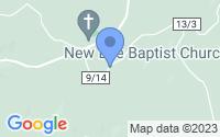 Map of Belleville WV