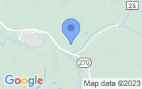 Map of Clarksburg WV