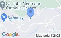 Map of Gaithersburg MD