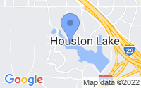 Map of Houston Lake MO