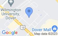 Map of Dover DE