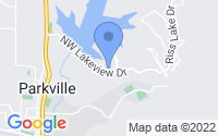 Map of Parkville MO