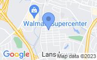 Map of Halethorpe MD