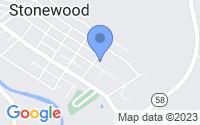 Map of Stonewood WV