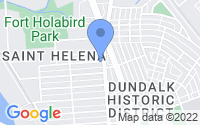 Map of Dundalk MD