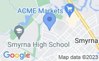 Map of Smyrna DE