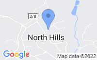 Map of North Hills WV