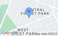 Map of Gwynn Oak MD