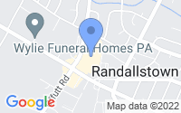 Map of Randallstown MD