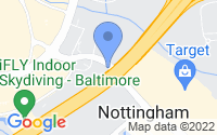 Map of Nottingham MD