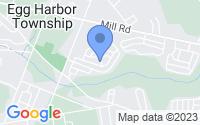 Map of Egg Harbor Township NJ