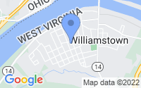 Map of Williamstown WV