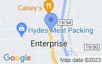 Map of Enterprise WV