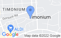 Map of Lutherville-Timonium MD