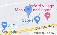 Map of Edgewood MD