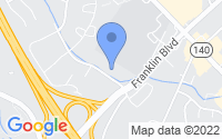Map of Reisterstown MD