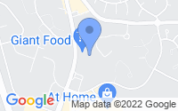 Map of Abingdon MD