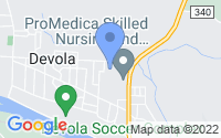 Map of Marietta OH