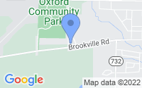 Map of Oxford OH