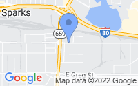 Map of Sparks NV