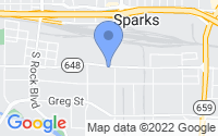 Map of Sparks NV