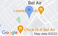 Map of Bel Air MD