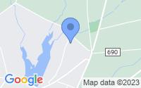 Map of Pittsgrove NJ