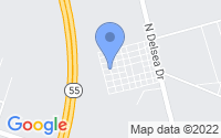 Map of Newfield NJ