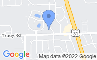 Map of Whiteland IN