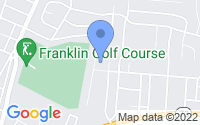 Map of Franklin OH