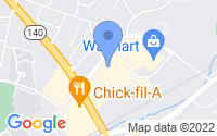 Map of Westminster MD