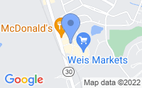 Map of Hampstead MD
