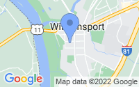 Map of Williamsport MD