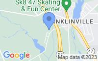 Map of Franklin NJ