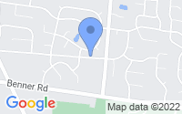 Map of Miamisburg OH