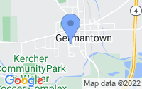 Map of Germantown OH