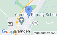 Map of Camden OH