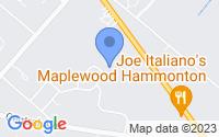 Map of Hammonton NJ