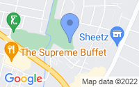 Map of Hagerstown MD