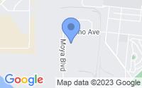 Map of Reno NV