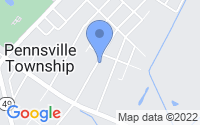 Map of Pennsville NJ